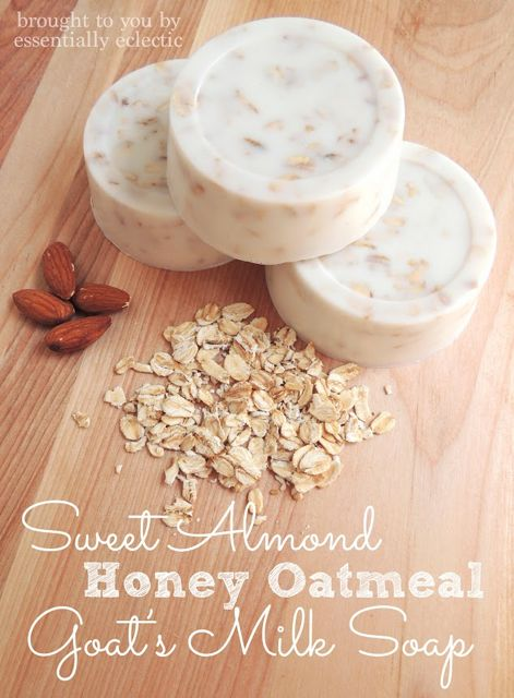 Sweet-Almond-Honey-Oatmeal-Soap