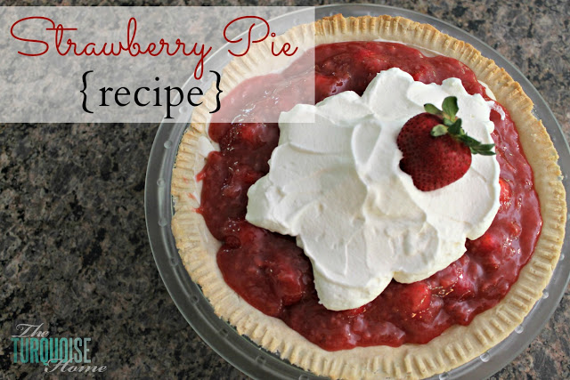 Strawberry Pie Recipe