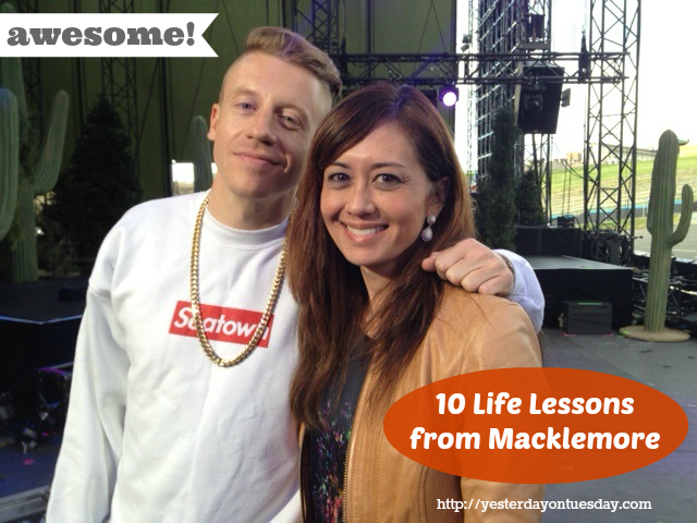 Life Lessons from Macklemore