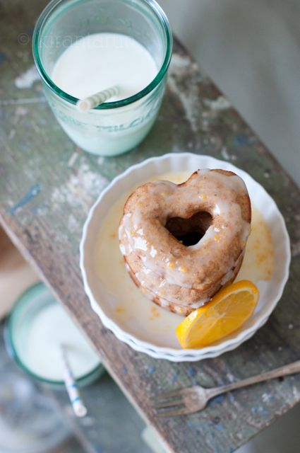 Meyer Lemon Doughnuts - Kiratarun