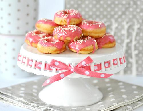 Mini Nectarine Doughnuts