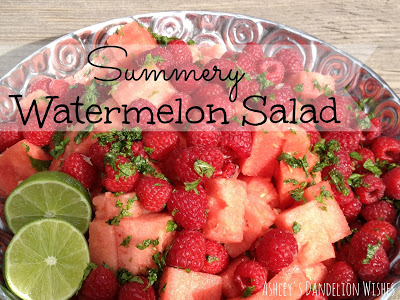Summery Watermelon Salad