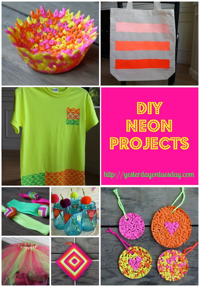 Diy Neon Projects Yesterday On Tuesday
