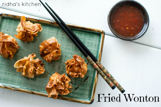 Fried Chicken Wonton