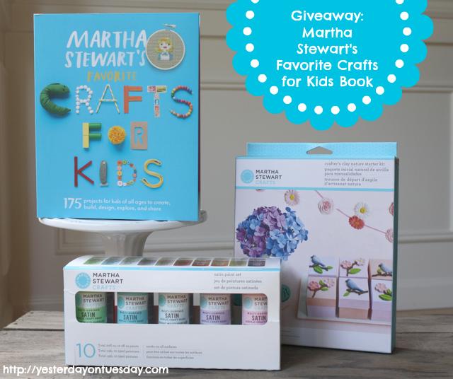 Martha Stewart Crafts Giveaway
