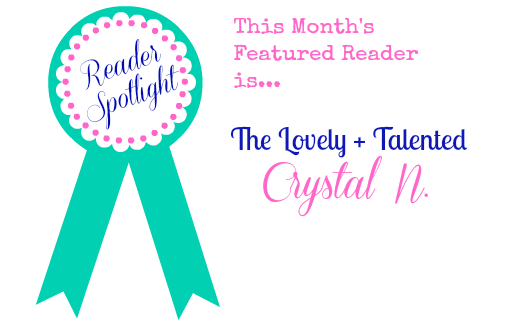 Yesterday on Tuesday's Featured Reader