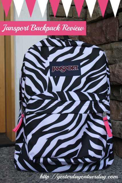 Jansport Backpack Review | Yesterday On Tuesday