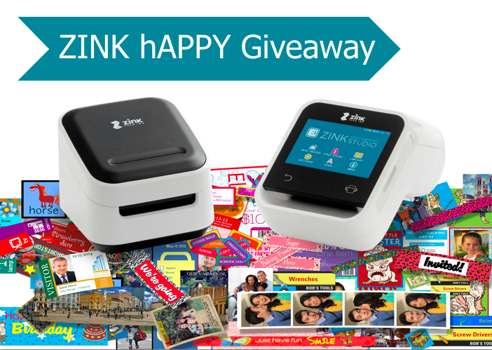 Zink hAPPY Giveaway!