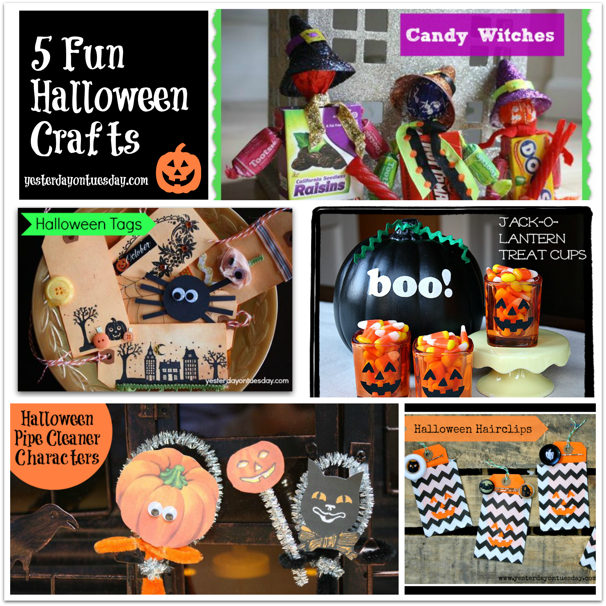 Halloween Crafts And Decorations: 5 Fun Halloween Crafts