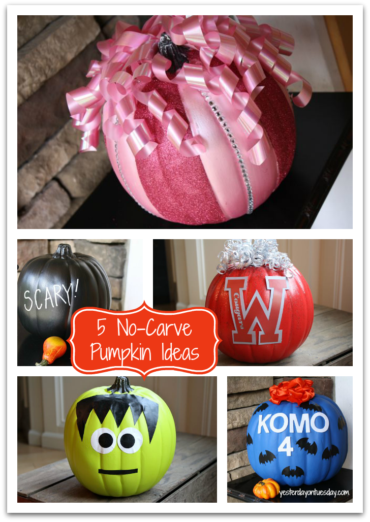 5 Easy No-Carve Pumpkin Ideas