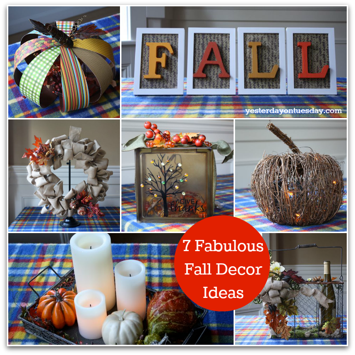7 Fabulous Fall Decor Ideas