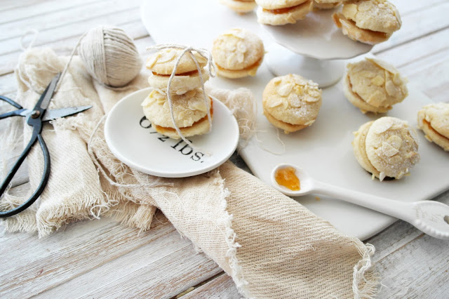 Almond Apricot Cookies - Twigg Studios
