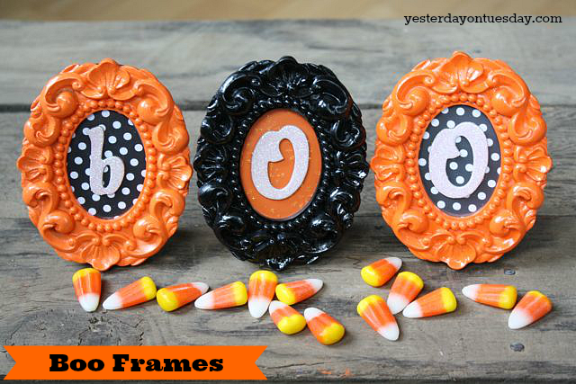Craft Lightning: Boo Frames