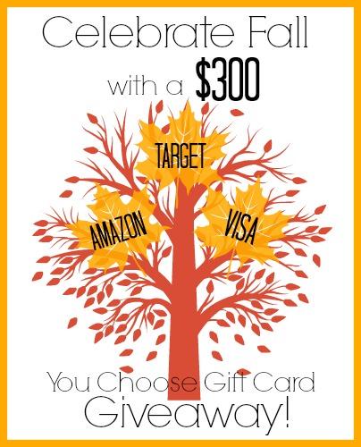 Win a $300 Gift Card