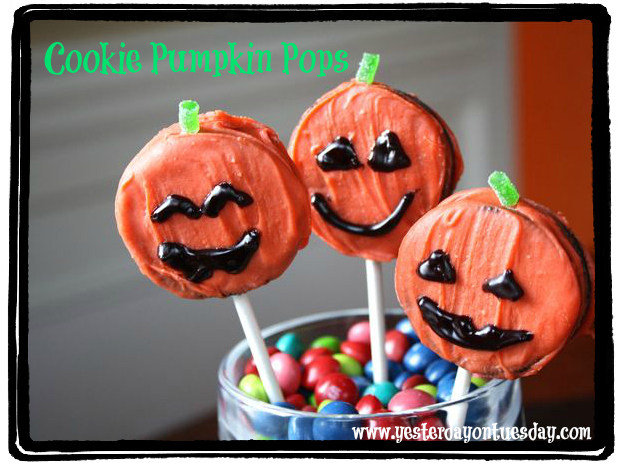 Cookie Pumpkin Pops!