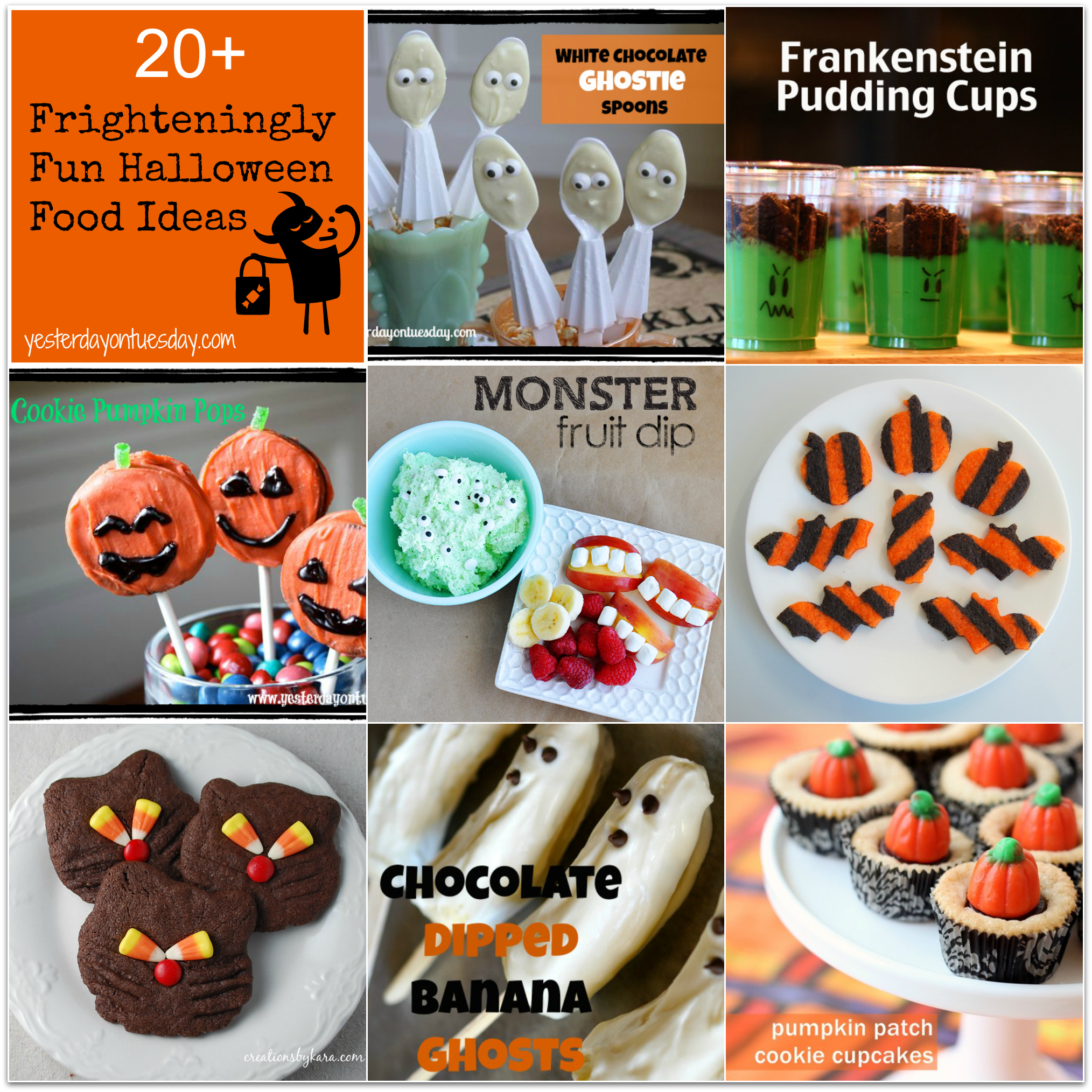 Project inspire d 33 yummy fall food yesterday on tuesday for Cuisine halloween