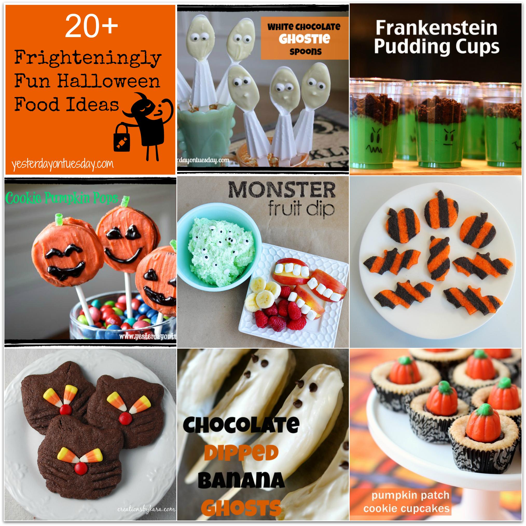 frighteningly fun halloween food ideas - Fun Halloween Ideas