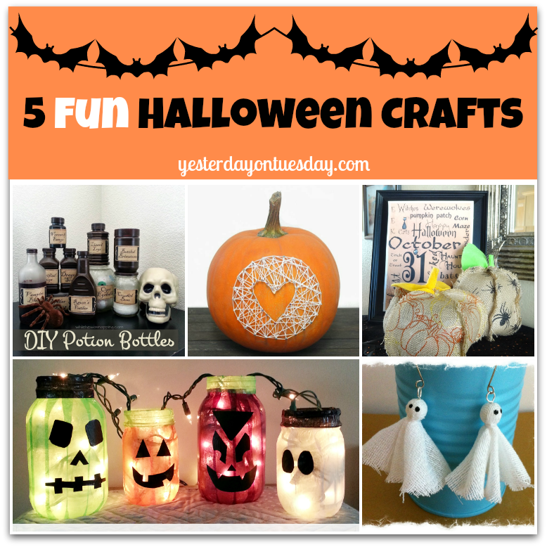 Project Inspire{d} #36: Five Playful Halloween Crafts