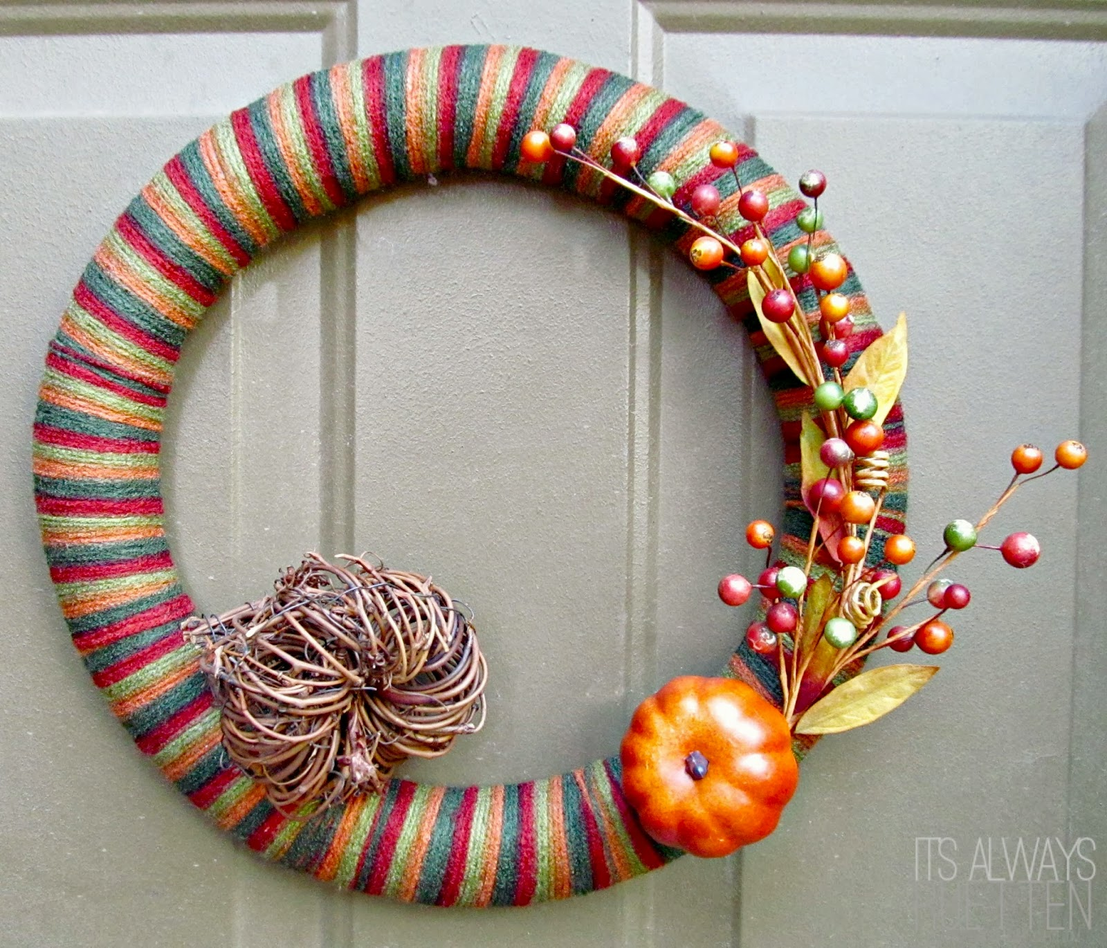 Project Inspire{d} #35: 5 Fall Wreaths