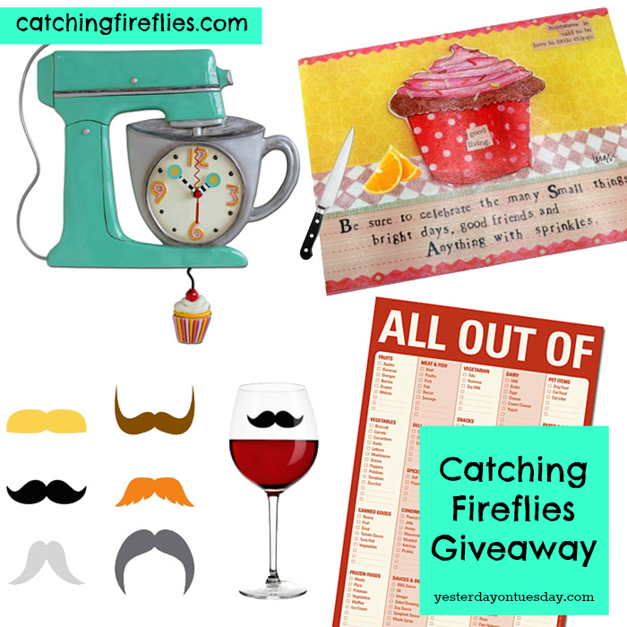 Giveaway Catching Fireflies Yesterday On Tuesday