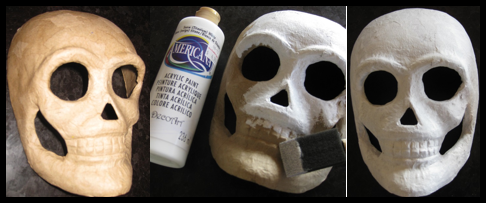 Skeleton Mask & DIY Skeleton Costume | Yesterday On Tuesday