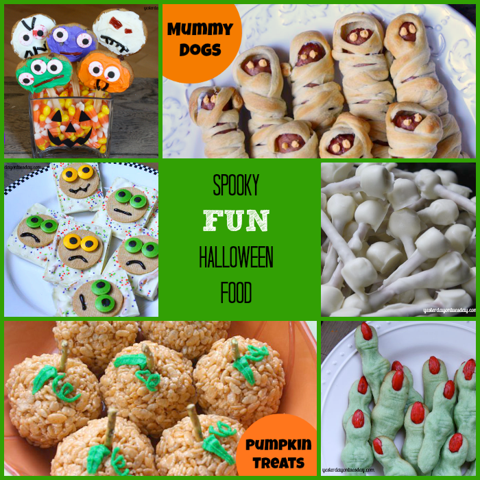 face it… Halloween Food is FUN! Here are some classic Halloween food ...