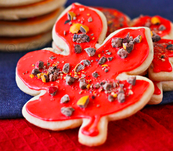 Fall Sugar Cookies by Kleinworth & Co.