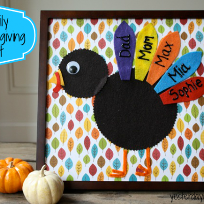 Family Thanksgiving Art