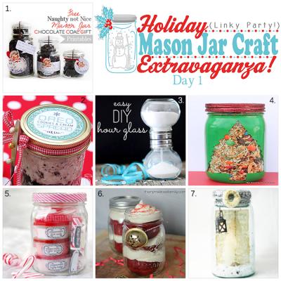 Holiday Mason Jar Craft Inspiration