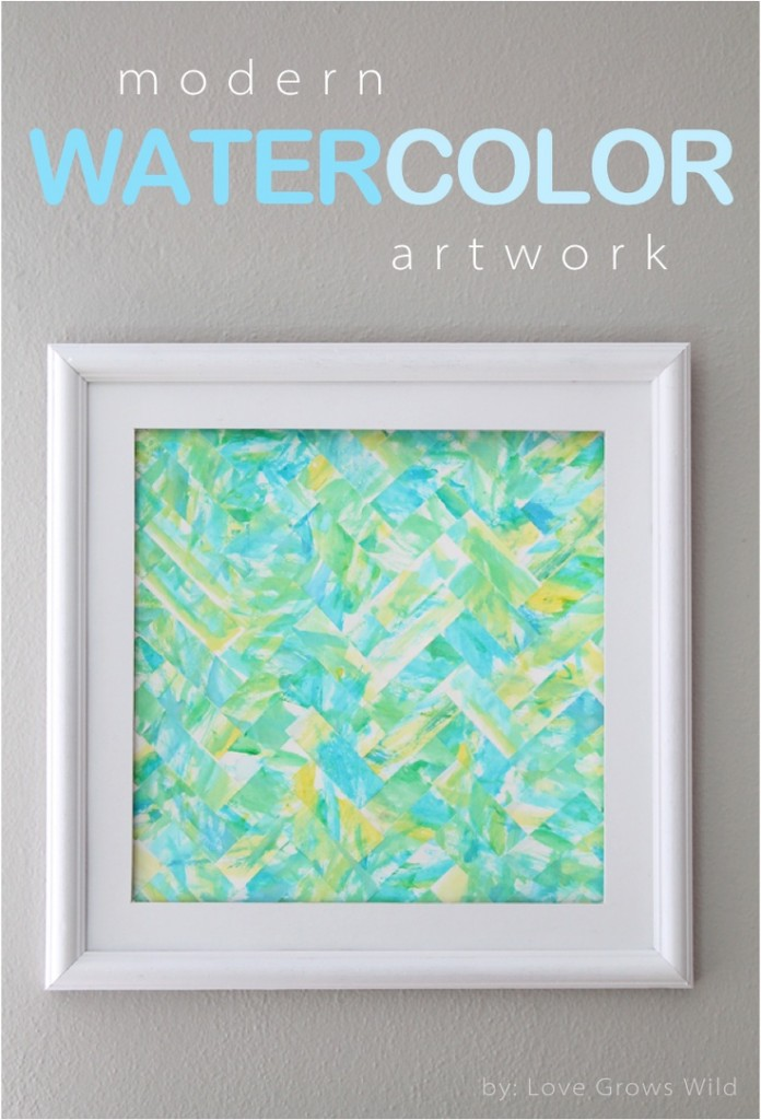 Modern Watercolor Artwork