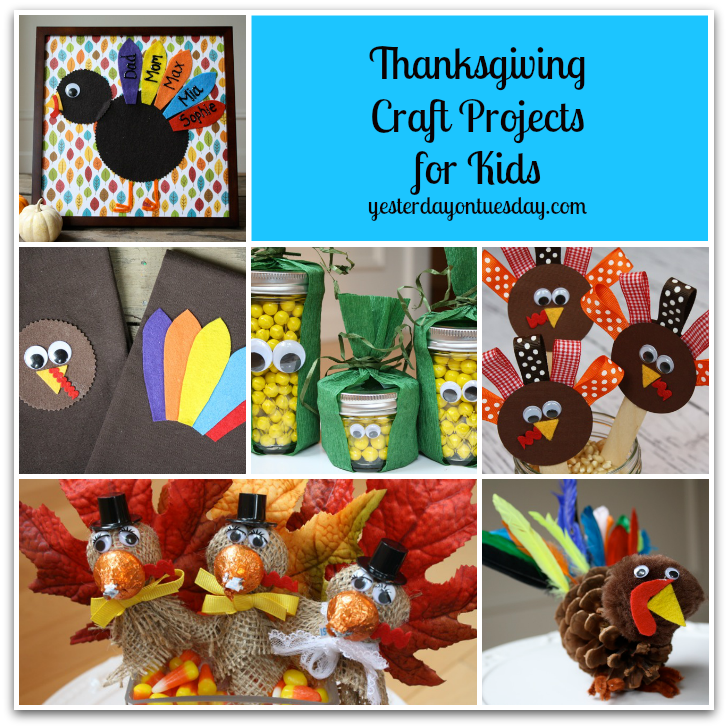 thanksgiving craft projects for kids yesterday on tuesday
