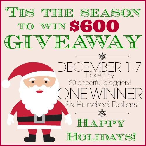 $600 Visa Gift Card Giveaway