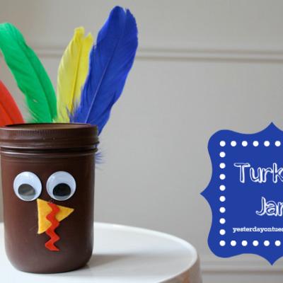 Turkey Jar Craft