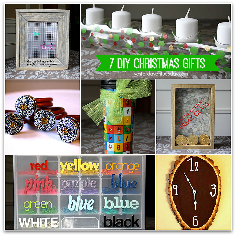 7 DIY Christmas Gifts | Yesterday On Tuesday