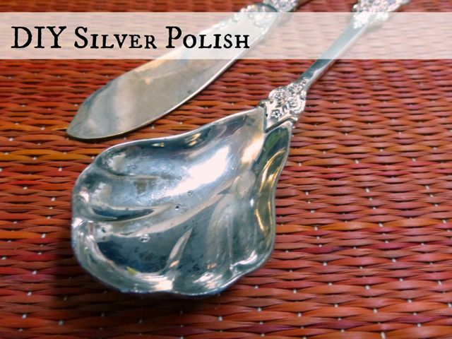 DIY Silver Polish by Domestic Bliss Squared