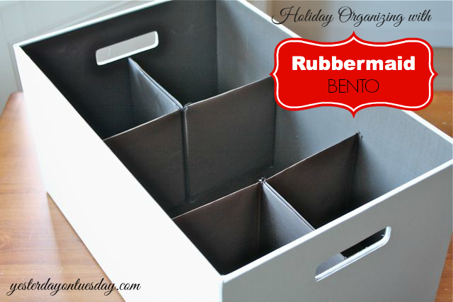 Holiday Solutions with Rubbermaid Bento