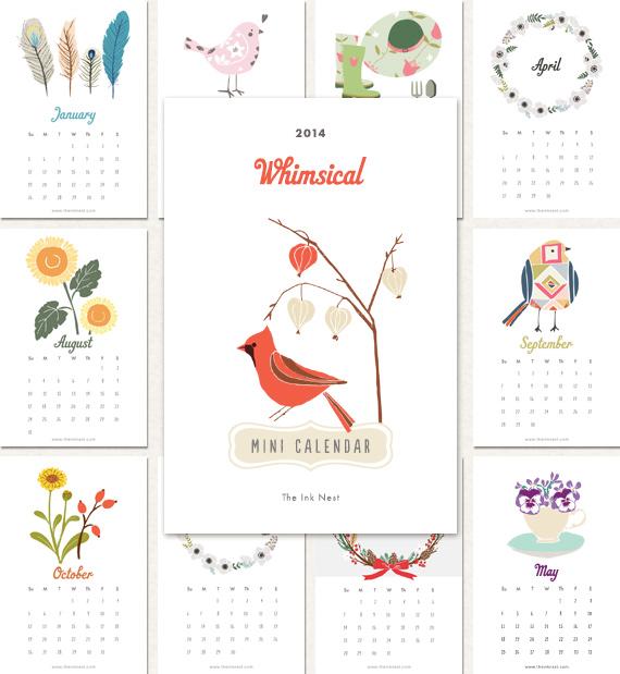 A Dozen Free 2013 Calendars