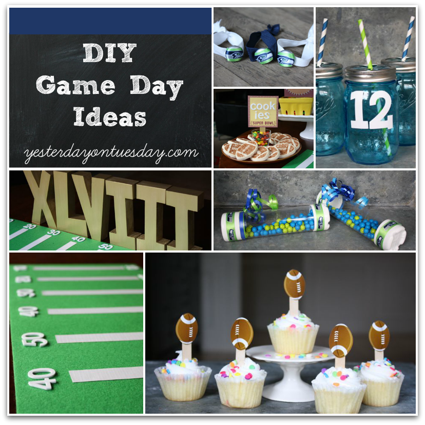 Diy Game Day Ideas Yesterday On Tuesday
