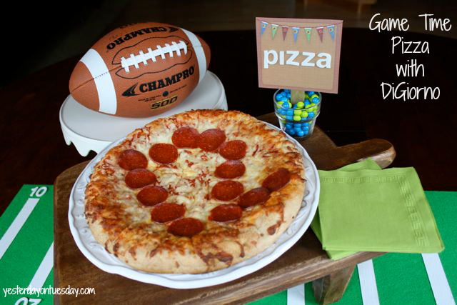 DiGiorno Pizza is the perfect Game Time Food