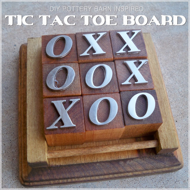 Tic Tac Toe Board by Lets Drink Coffee