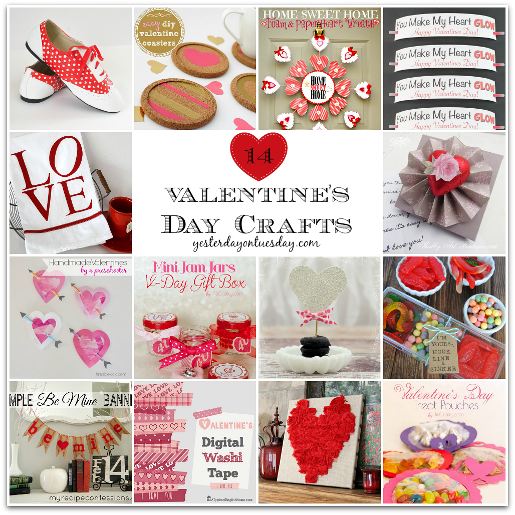 14 Valentine S Day Crafts