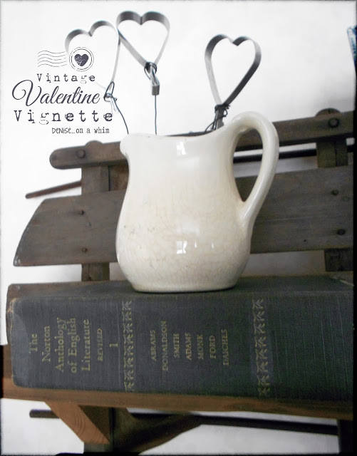 Vintage Valentine Vignette by Denise On A Whim