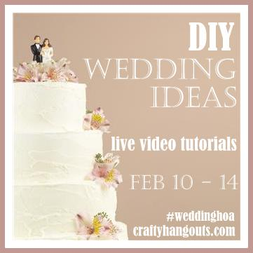 Wedding Crafts with DecoArt