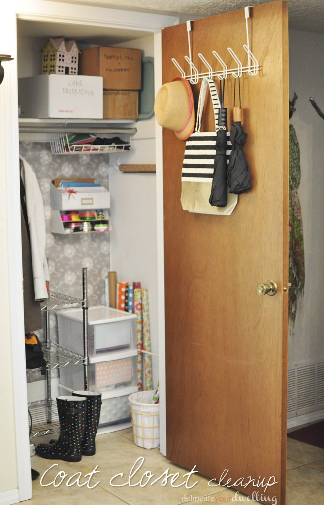 Coat Closet Cleanup Delineate Your Dwelling
