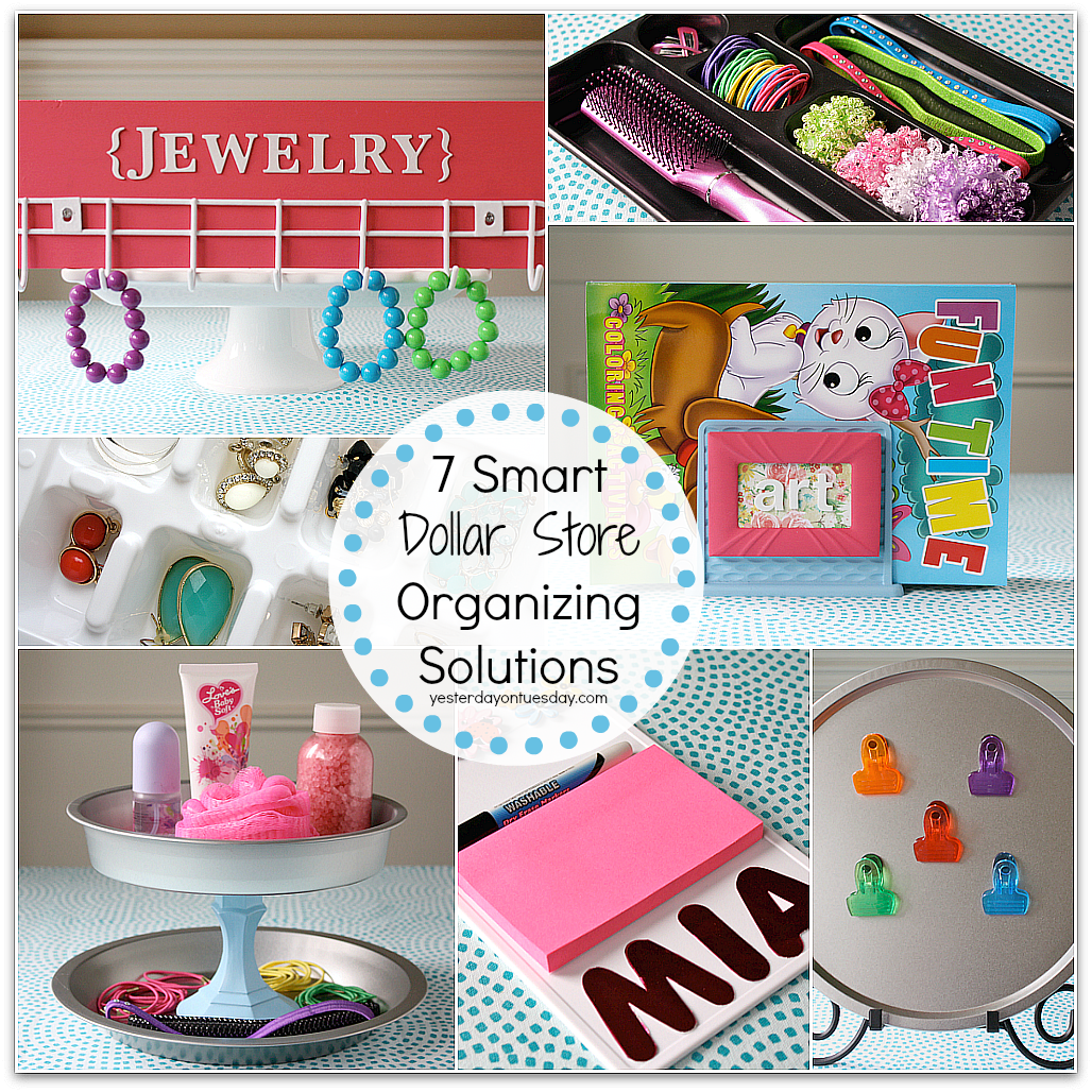 7 Smart Dollar Store Organizing Solutions