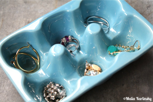 50 ways to organize everything yesterday on tuesday for Alex paint porcelain jewelry