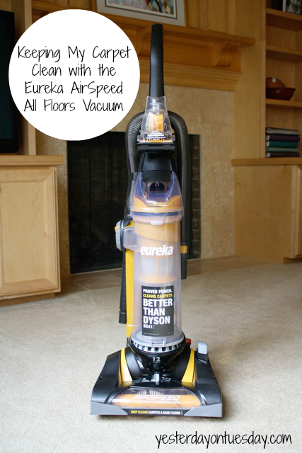 Keeping My Carpet Clean With The Eureka Airspeed All