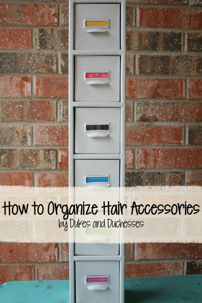 How to Organize Hair Accessories