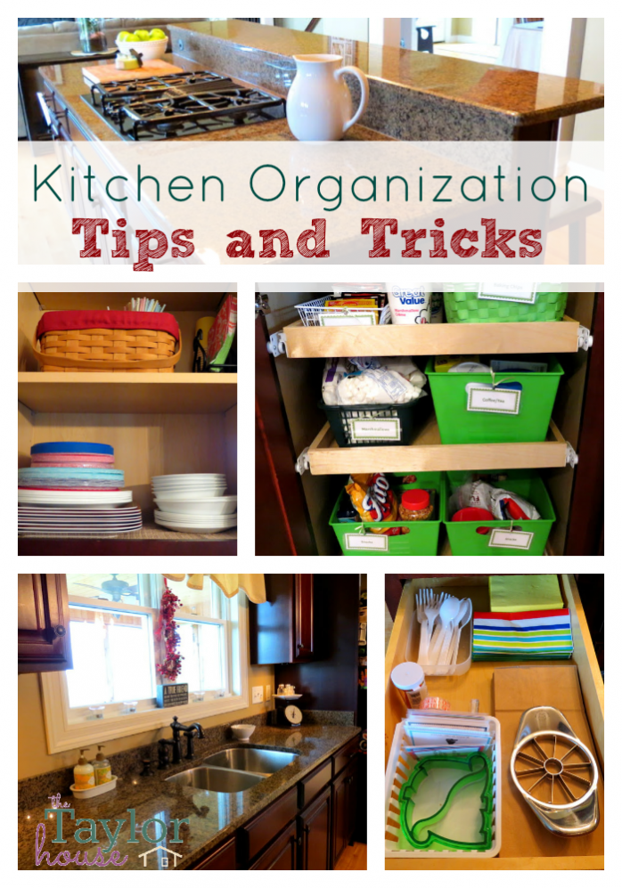 Kitchen Organization from The Taylor House