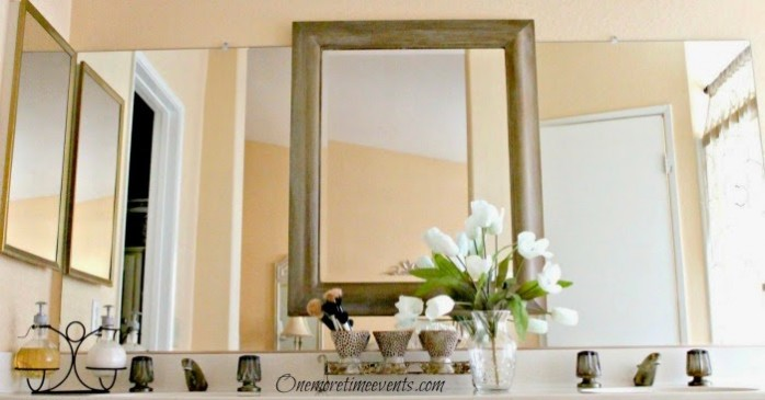 Master Bath Mirror Spotless